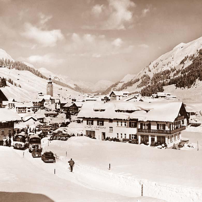 Hotel Gotthard Lech Restaurant